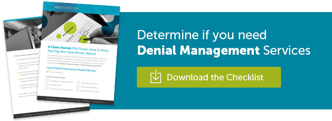 Determine if you need Denial Management Services